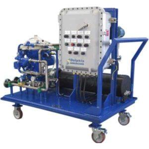 ATEX Turbine Lube Oil Centrifuge Cart