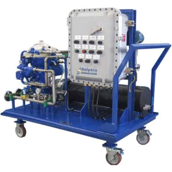 ATEX Turbine Lube Oil Centrifuge Cart