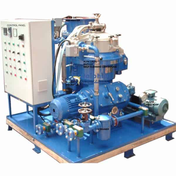Alfa-Laval-MAPX207-Waste-Oil-Centrifuge-Package