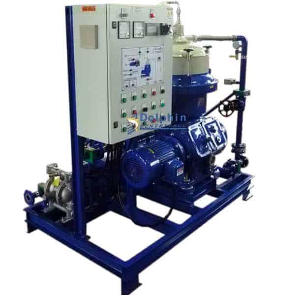 Industrial Oil Centrifuge Filter Machine