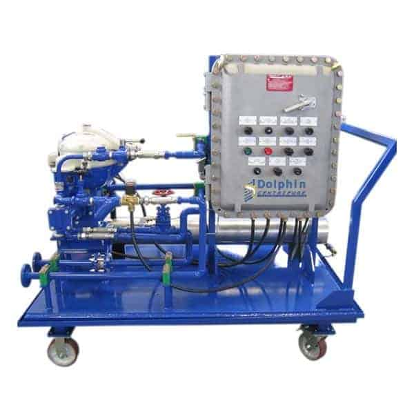 Explosion Proof Centrifuge - Gas Power Plant