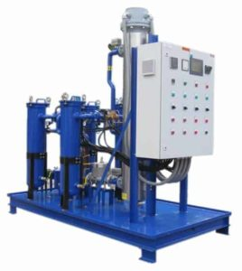 Crude Oil Heater and Filter Skid