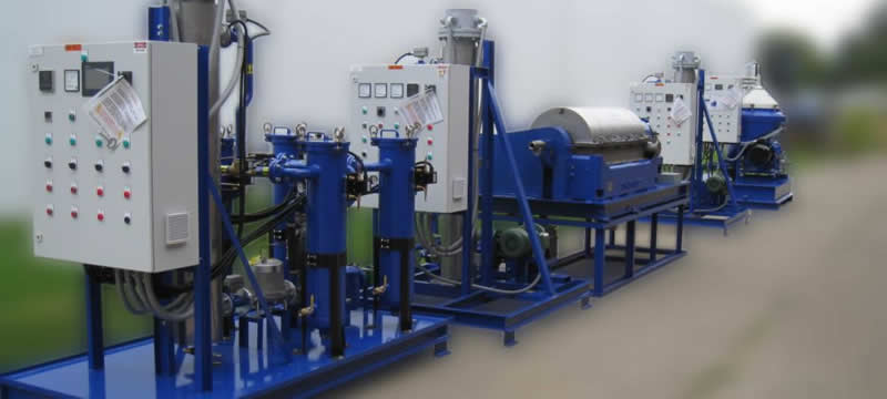 Crude Oil Recovery System – Modular