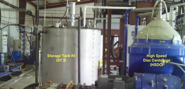 Crude Oil Tank Bottom Disc Stack Centrifuge