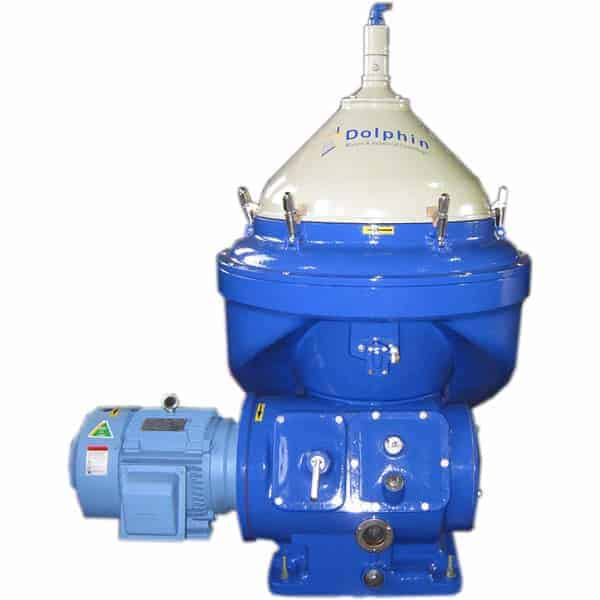 Disc Stack, Self-Cleaning Centrifuge for Wastewater Clarification
