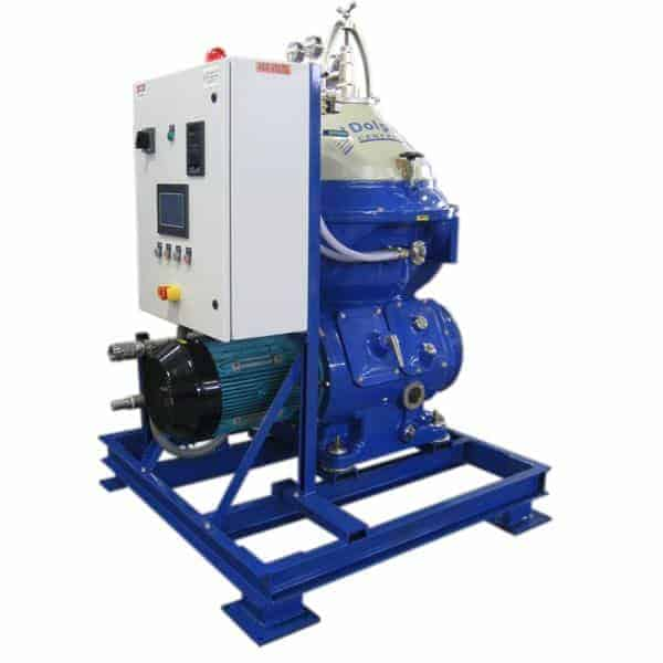 Industrial Centrifuge for Humus Fertilizer Separation
