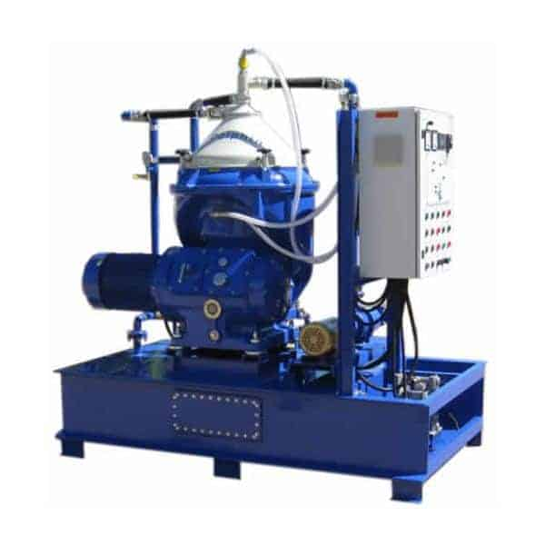 Self Cleaning Disc Stack Centrifuge for Chemical Clarification
