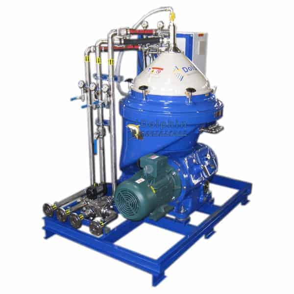 Stainless Steel Contact Centrifuge for Acid Treated Waste Oil