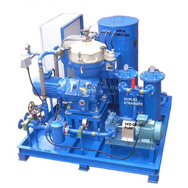 Synthetic Coolant Tramp Oil Separation Centrifuge Module