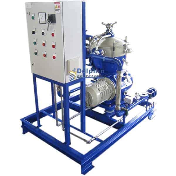 Turbine Lubricating Oil Centrifuge System