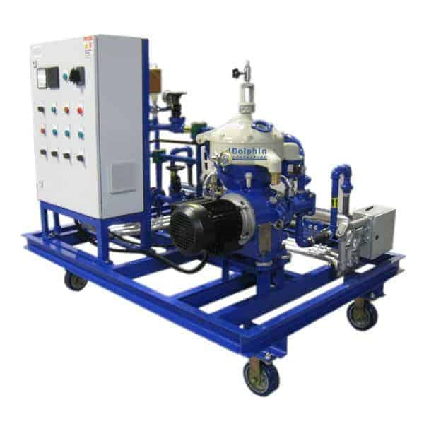 Steam Turbine Lube Oil Centrifuge Trolley