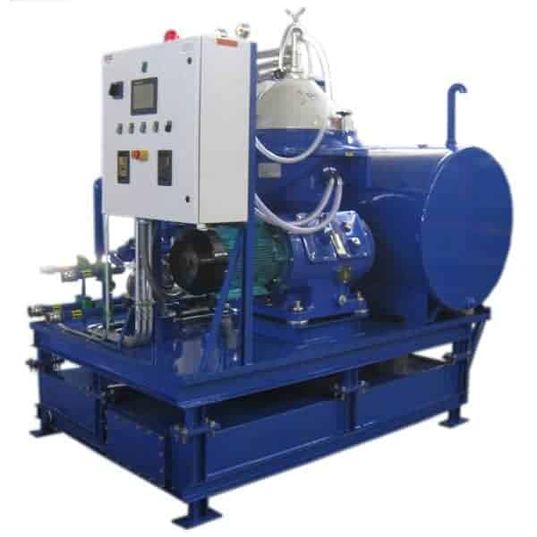 Used Motor Oil 'Self-Cleaning' Centrifuge