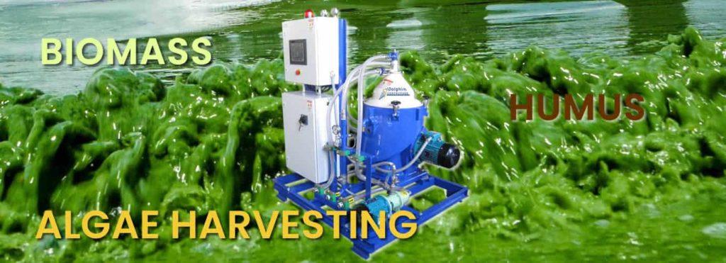 Algae Centrifuge Large Scale Processing