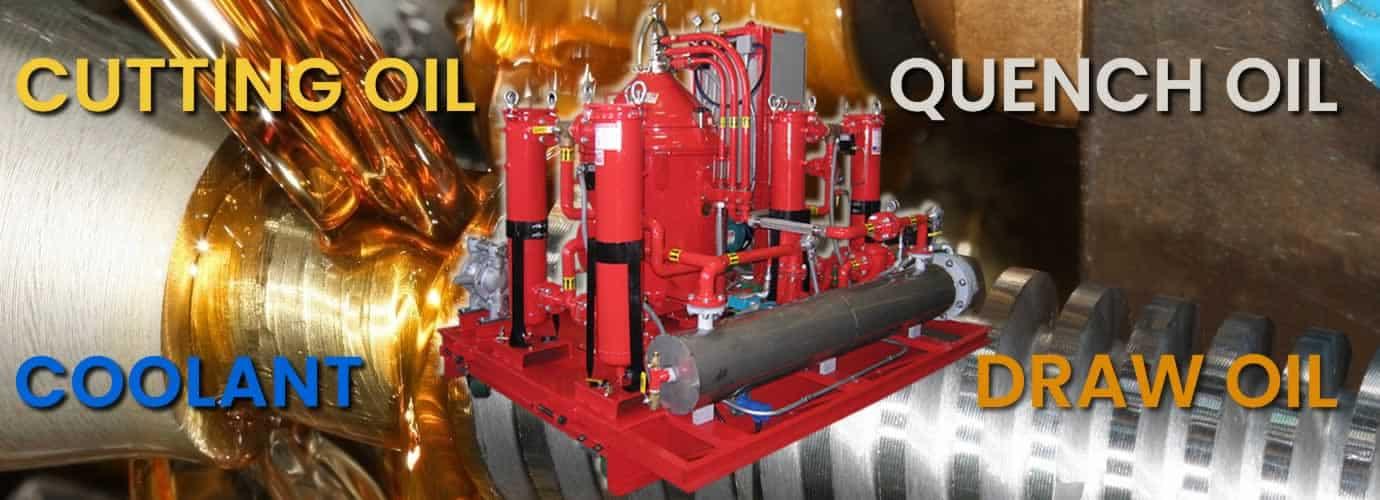 Industrial Coolant Centrifuge