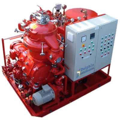 Alfa Laval Coolant Pasteurizing Disc Centrifuge