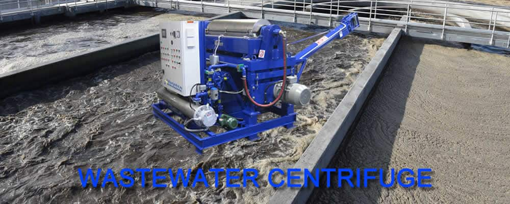 Alfa Laval Wastewater Decanter Centrifuge - New York