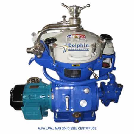 Alfa Laval MAB 204 Diesel Centrifuge