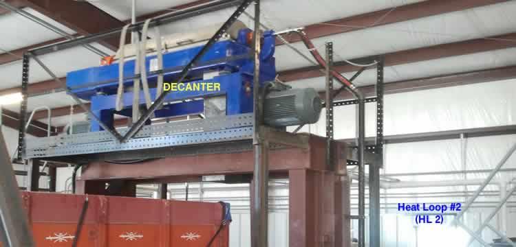 crude oil tank bottom decanter centrifuge