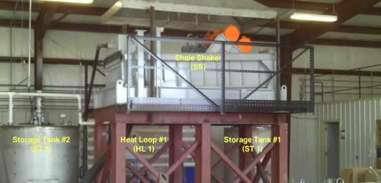 crude oil tank heat loop shaker 1