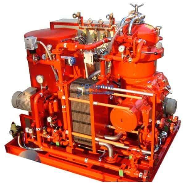 Machine Coolant Pasteurizing Centrifuge