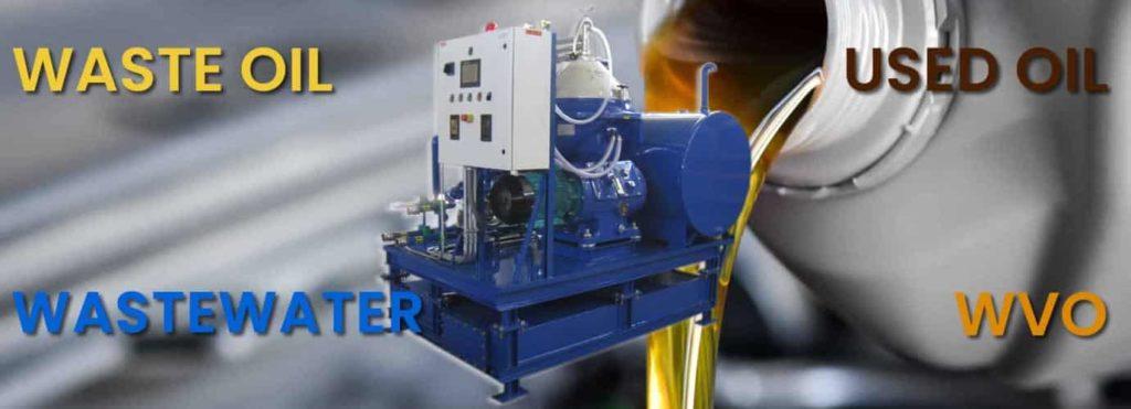 waste oil centrifuge