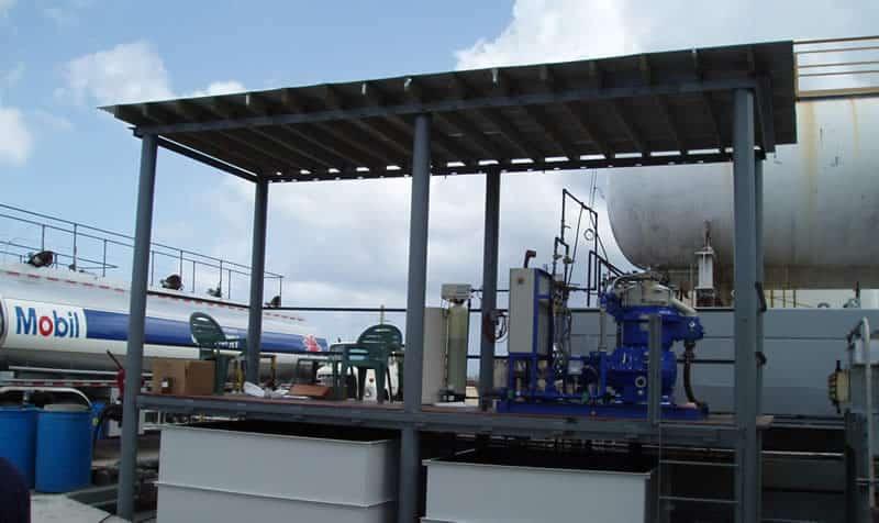 Waste Oil Centrifuge System – Guam