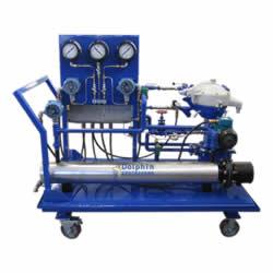 Steam Turbine Lube Oil Trolley