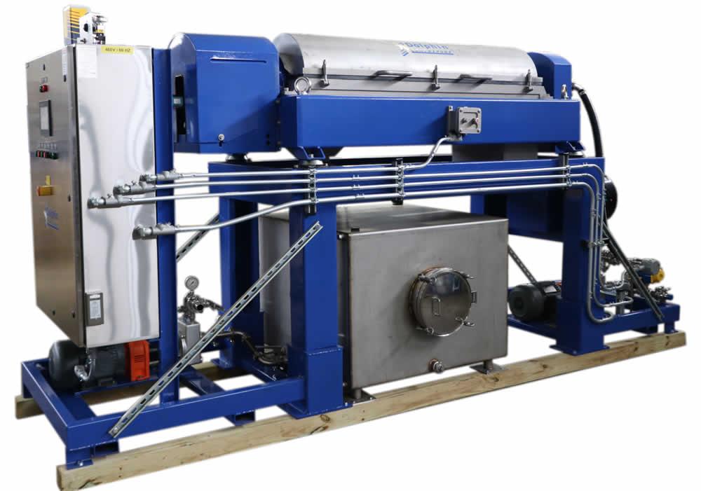 Alfa Laval NX418 Decanter C1D2 for Hemp Ethanol Processing
