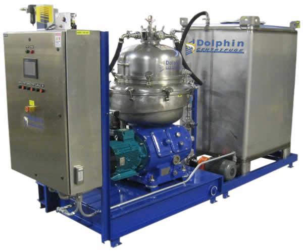 Hemp CBD Oil Ethanol Winterization Centrifuge