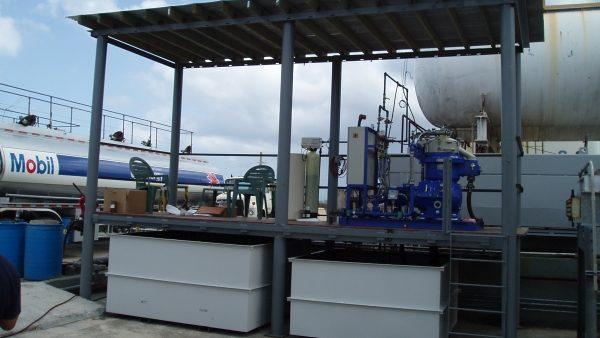 Alfa Laval Centrifuge Outdoor Installation - Guam