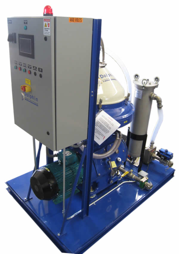 Alfa Laval WHPX-513 Centrifuge for Waste Water Clarification