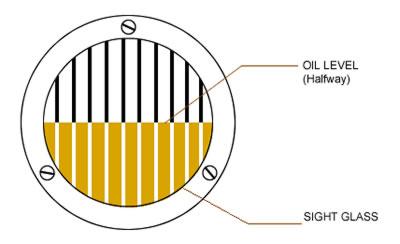 Disc Centrifuge Oil Sight Glass