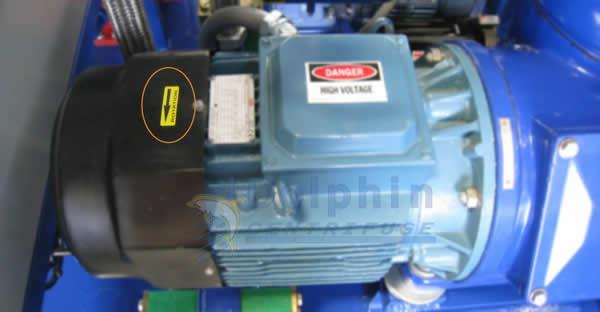 Centrifuge Motor Rotation Direction
